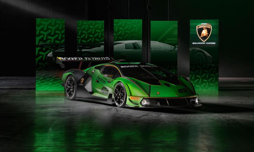 Lamborghini Essenza SCV12 Side Left View