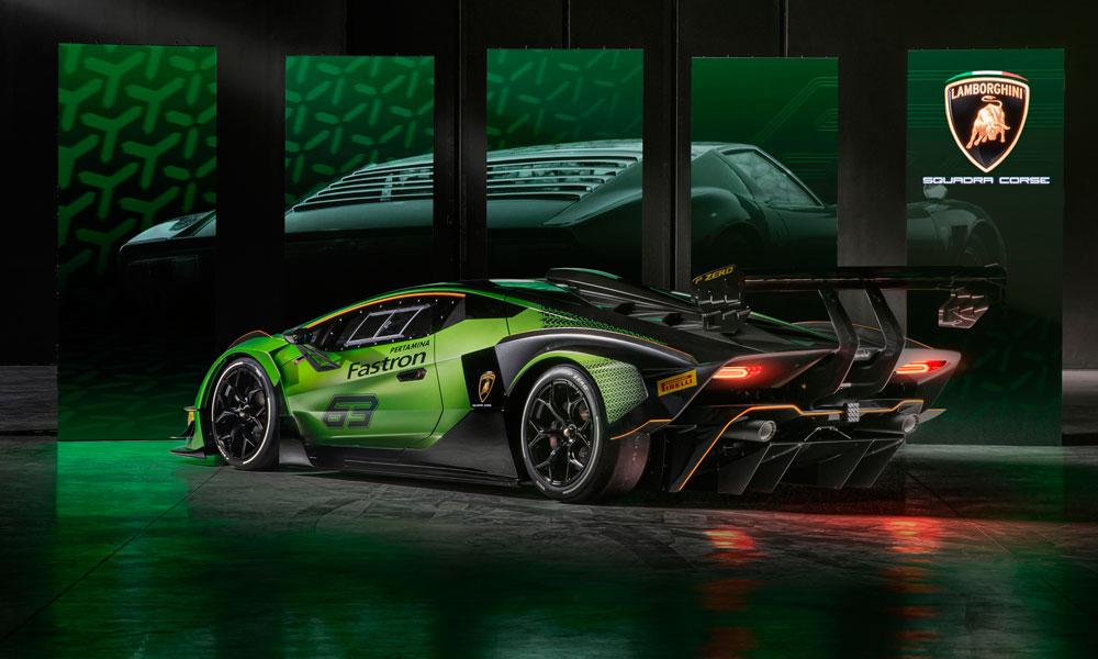 Lamborghini Essenza SCV12 Side Rear View