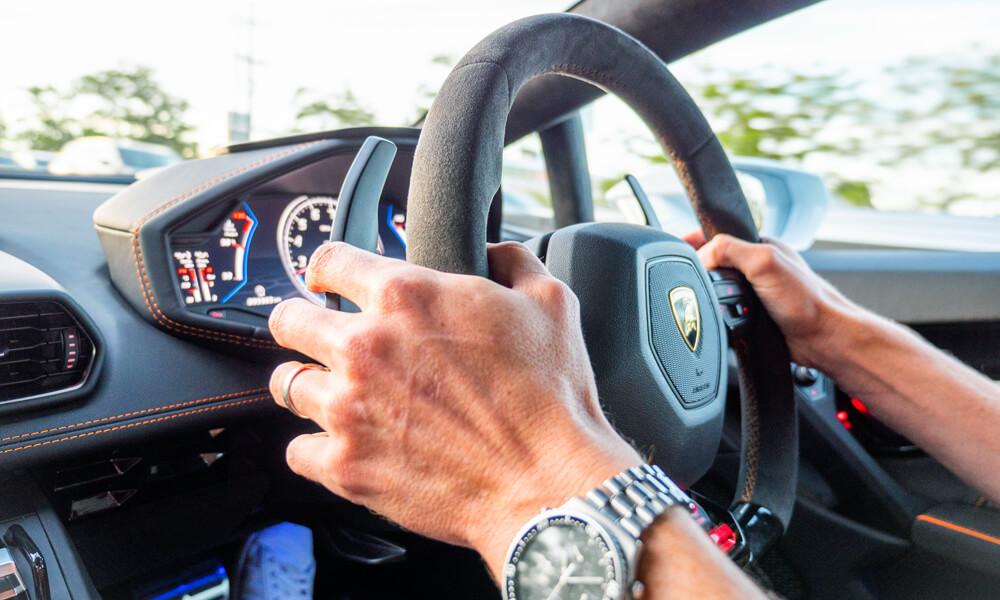 Driving the Lamborghini Hurcan Evo Review