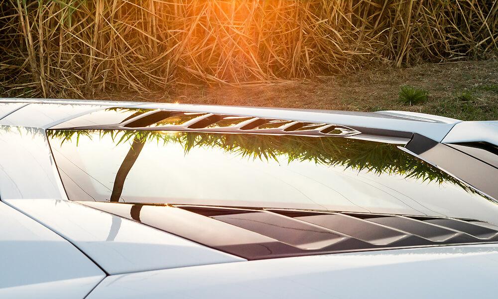 The Lamborghini transparent engine hood is a must-have option. Credit: Billionaire Toys