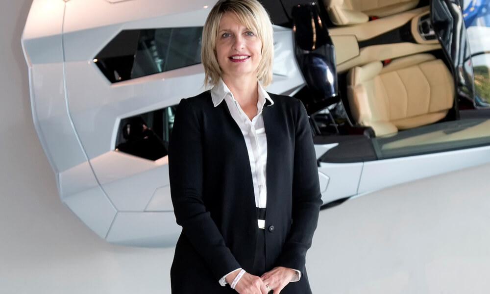 Lamborghini Marketing Officer Katia Bassi