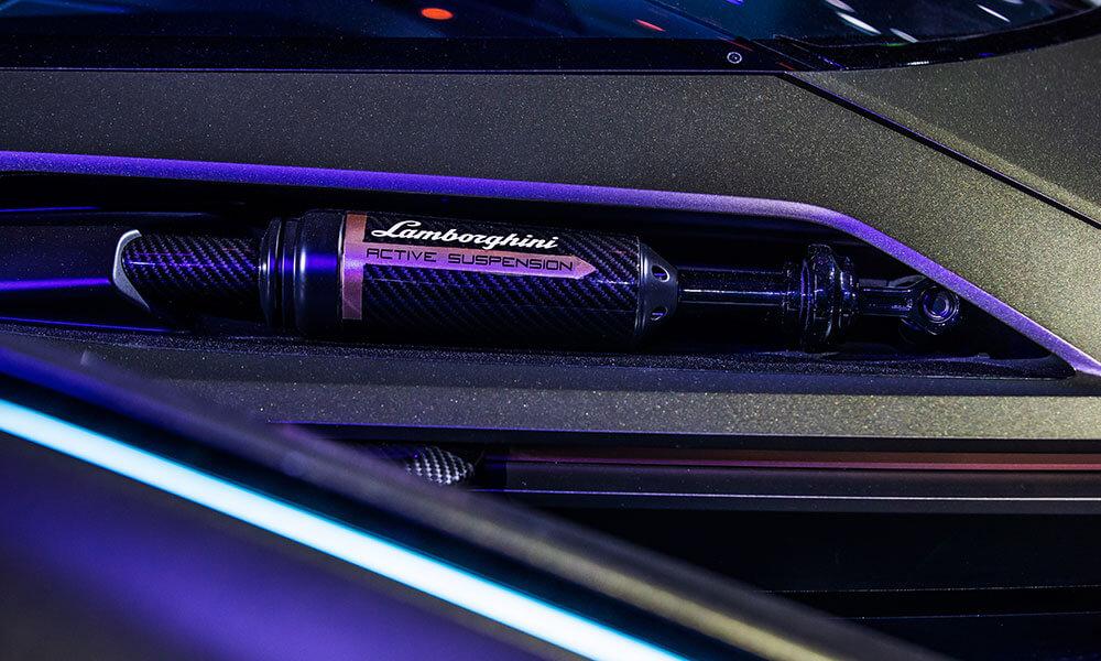 Lamborghini Lambo V12 Vision Gran Turismo active suspension