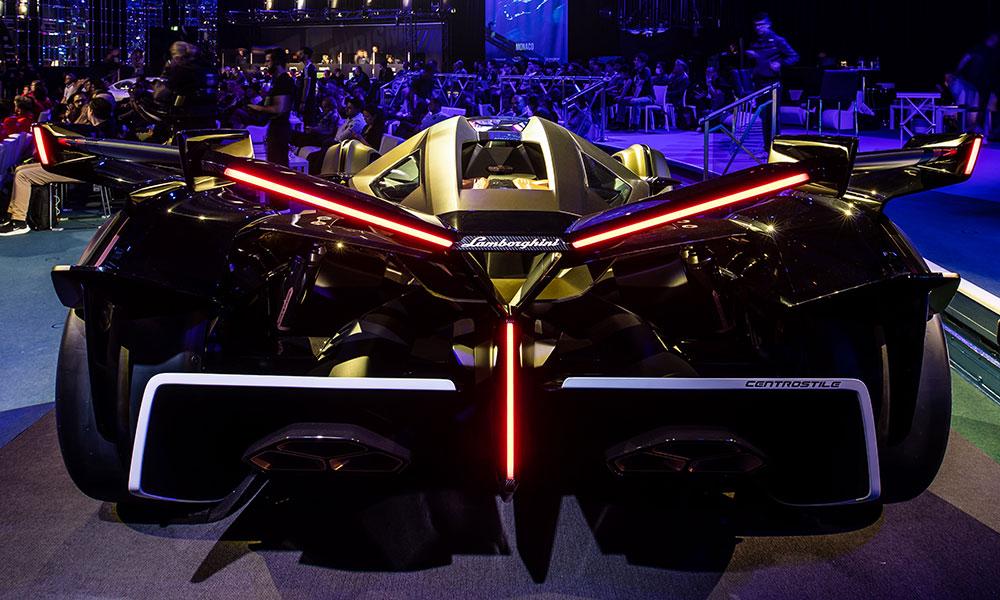 Lamborghini Lambo V12 Vision Gran Turismo rear lights