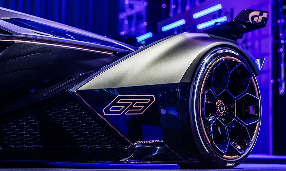 Lamborghini Lambo V12 Vision Gran Turismo wheels