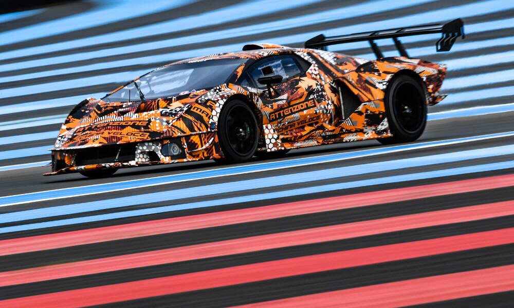 The Lamborghini SCV12 has been designed in collaboration with Lamborghini Squadra Corse. Credit: Lamborghini