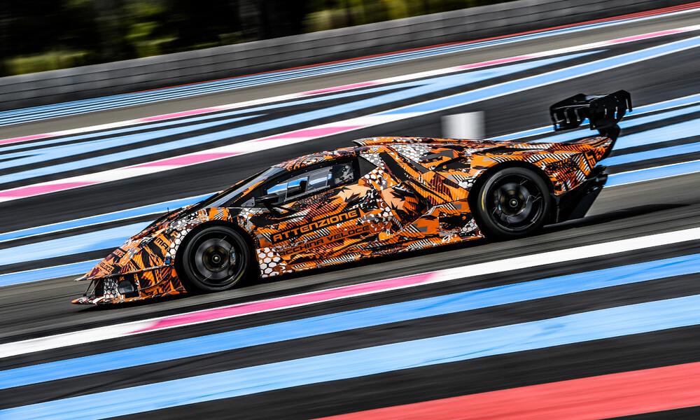 The new track-only Lamborghini SCV12 Hypercar. Credit: Lamborghini