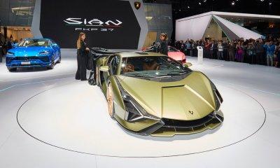 Lamborghini Sian International Show