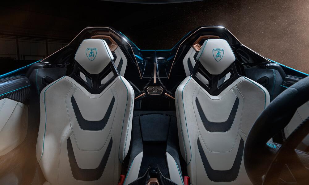 Sian Roadster Hybrid Interior Cockpit