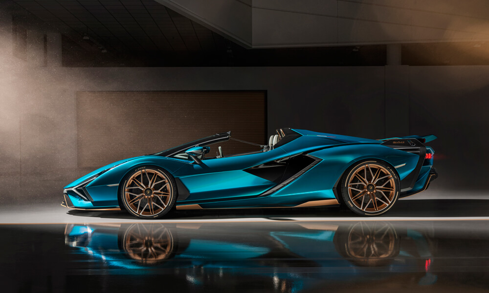 Only 19 Lamborghini Sián Roadster's will be built.