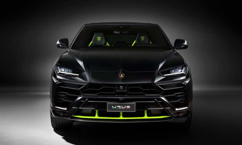Lamborghini Urus Graphite Capsule Front