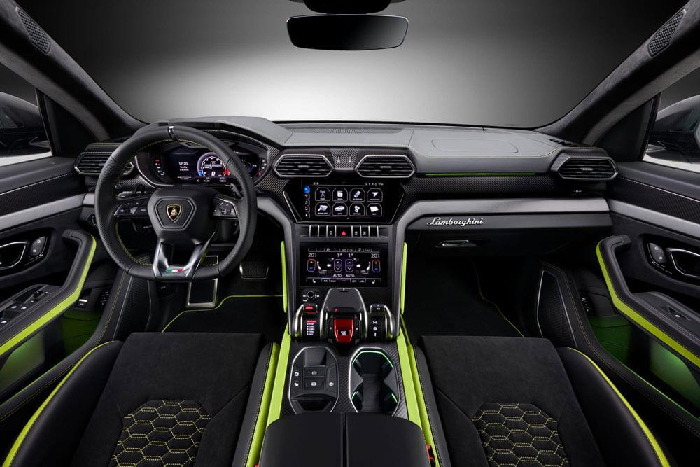 Lamborghini Urus Graphite Interior
