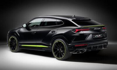Lamborghini Urus Graphite Side