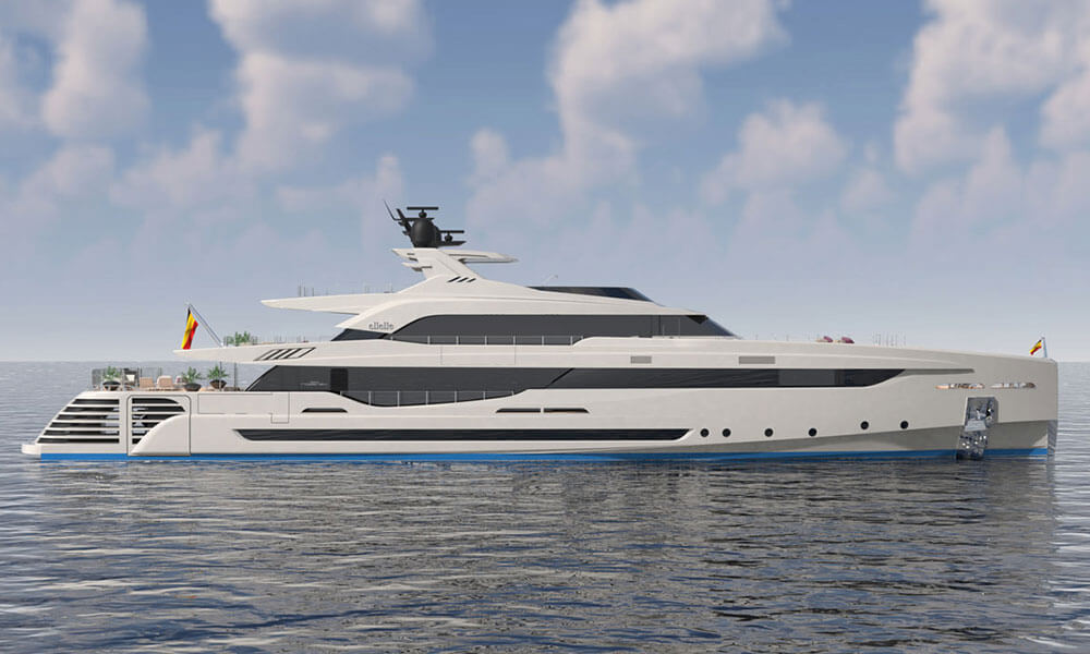 Rossinavi M/Y LeL designed by Luca Dini Design