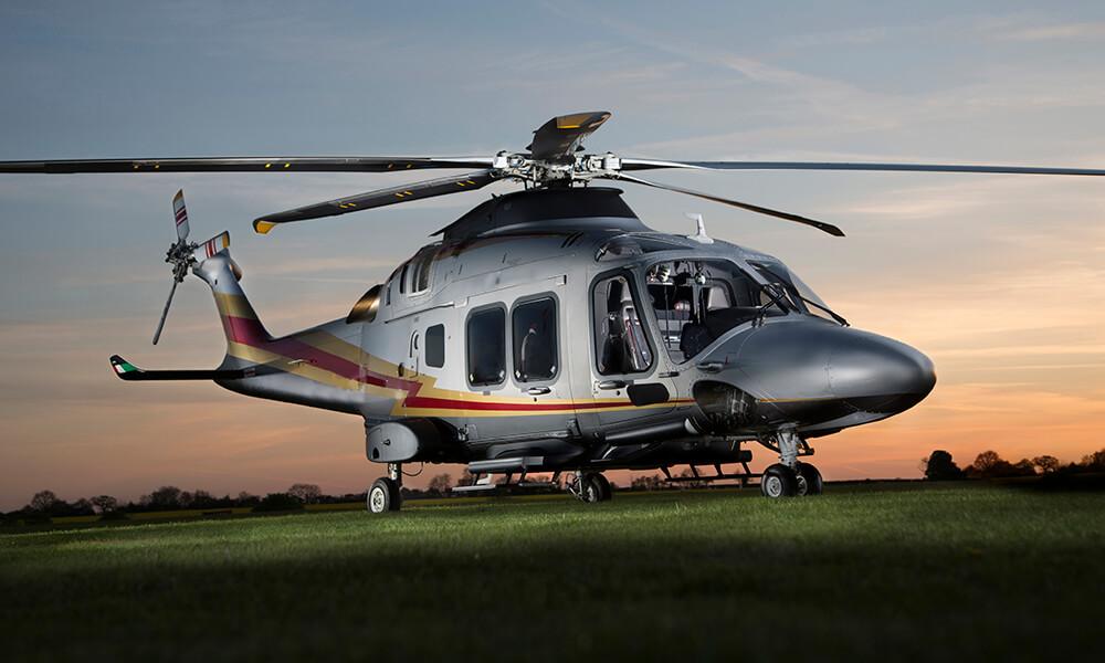 Leonardo AW169 helicopter
