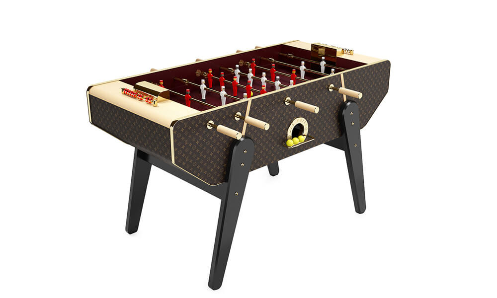 Louis Vuitton Babyfoot Canvas Monogram Foosball Table