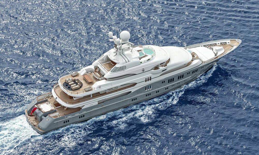 Lurssen Superyacht M/Y TV