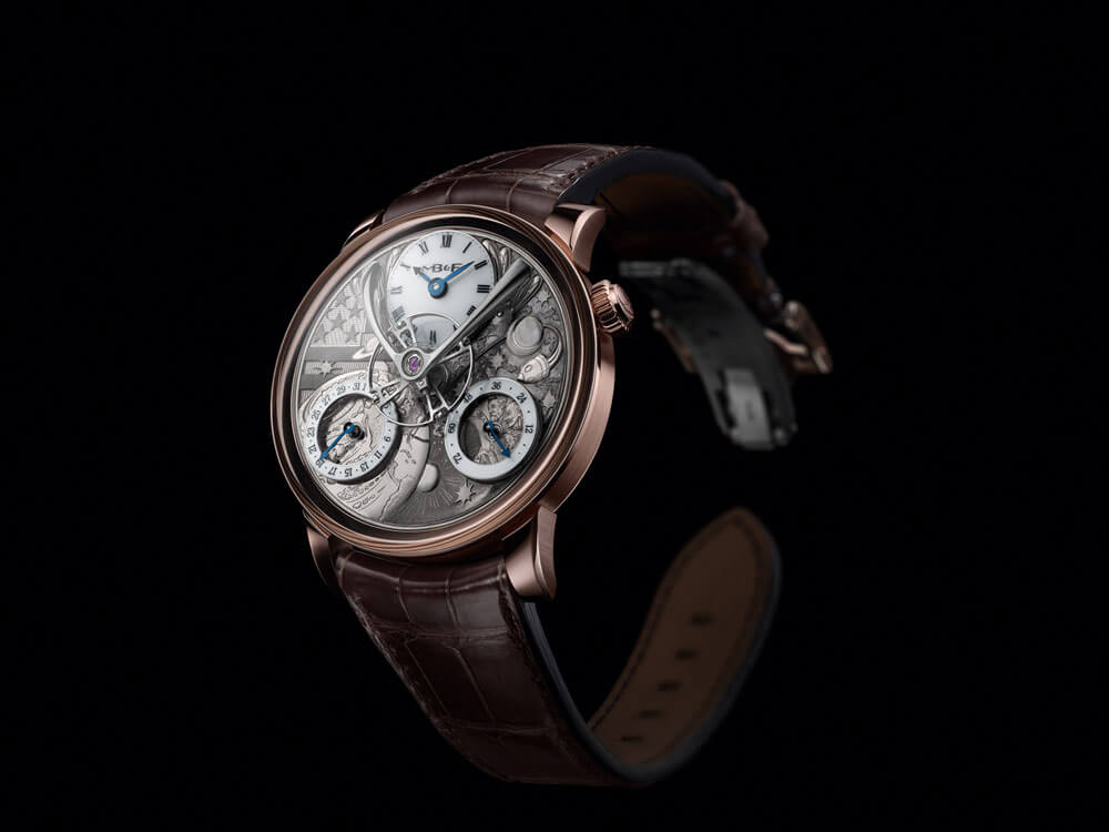 MB&F x Eddy Jaquet From The Earth To The Moon Legacy Machine Front