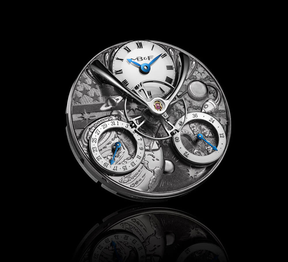 MB&F x Eddy Jaquet From The Earth To The Moon Movement