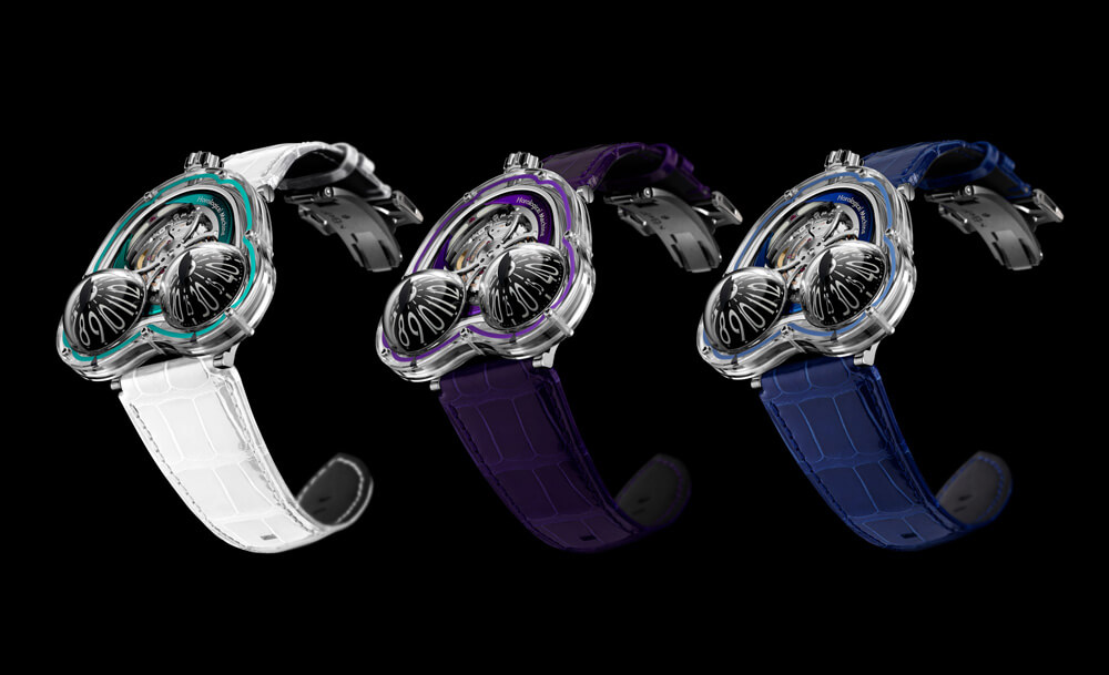 MB&F HM3 FrogX 10th Anniversary Limited Edition. Credit: MB&F