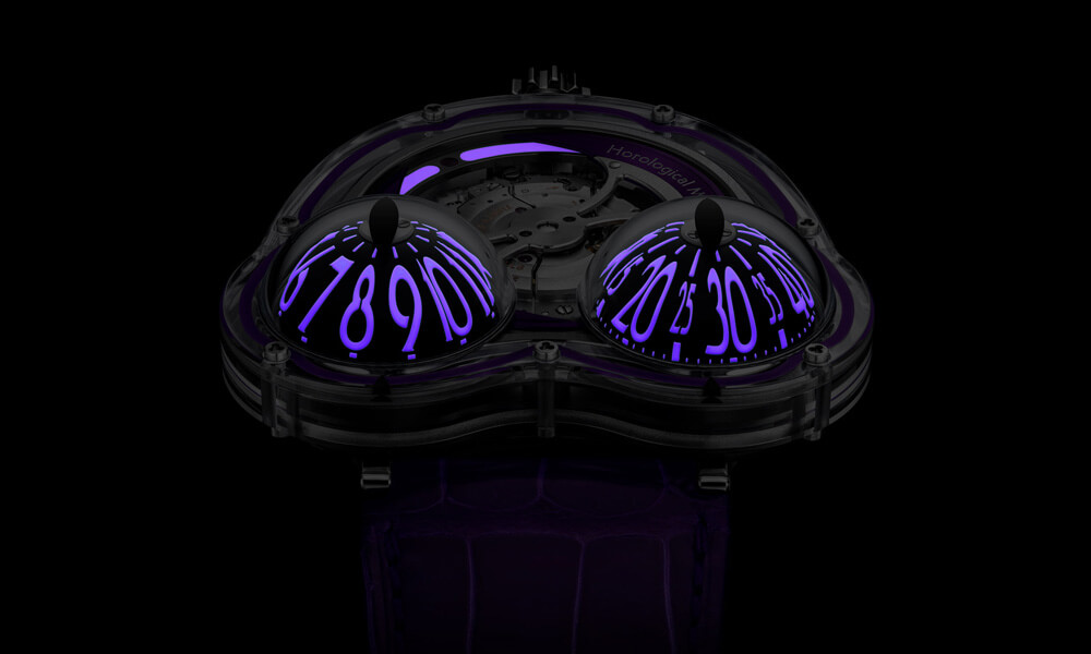 MB&F Frog X Purple 10th Anniversary Night
