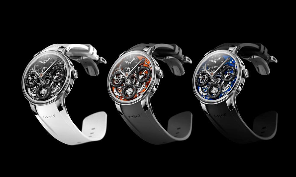 MB&F Legacy Machine EVO Collection