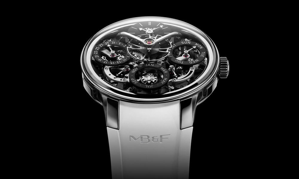 MB&F LM Perpetual EVO White Watch Face