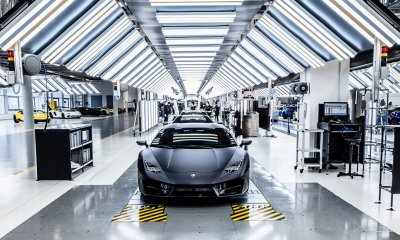 Lamborghini factory closes after governmental covornavirus policy recommendations