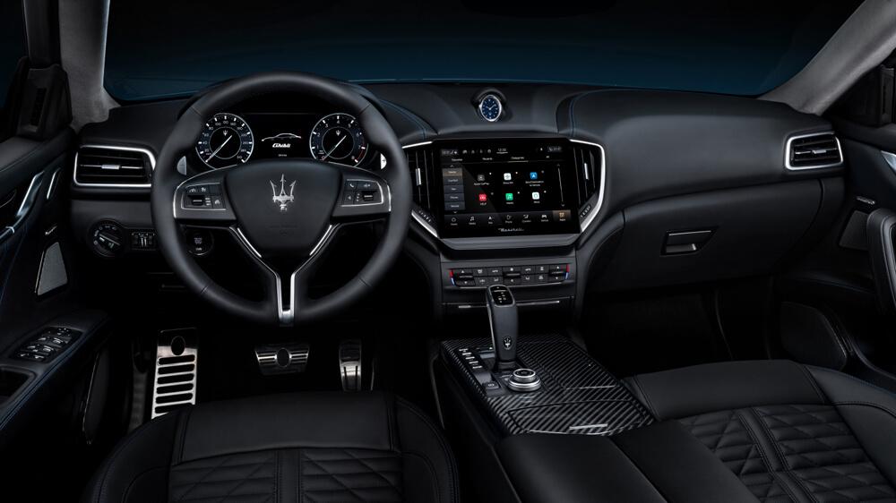 Maserati Ghibli Electric Interior Steering