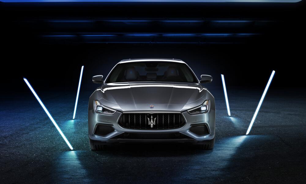 Maserati Ghibli Hybrid Front View