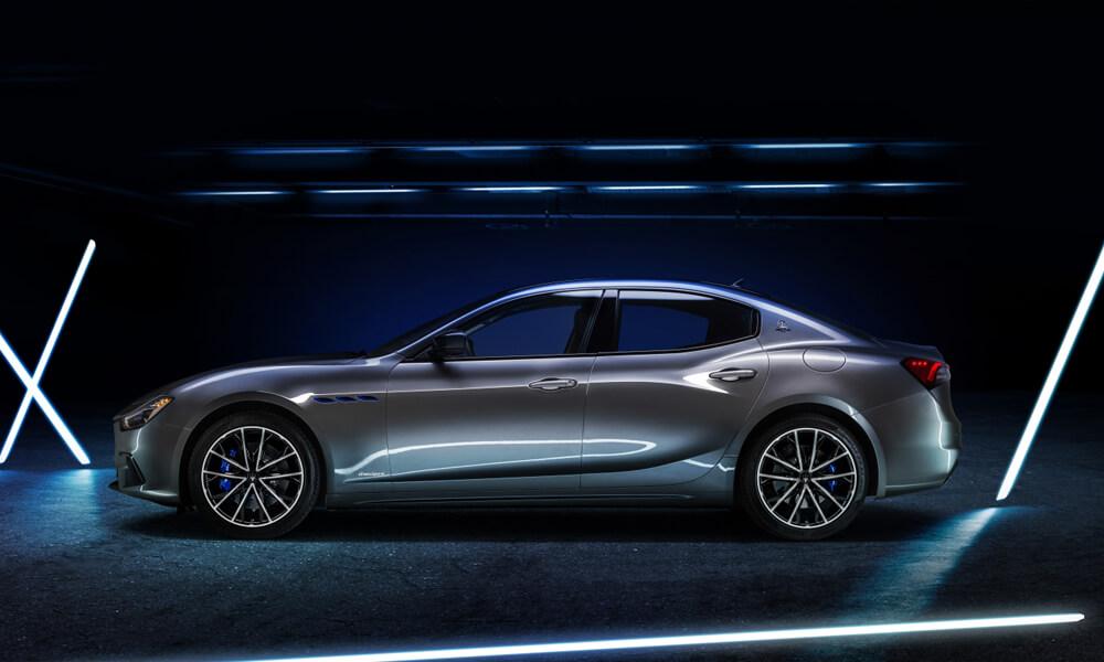 Maserati Ghibli Hybrid Electric Side View