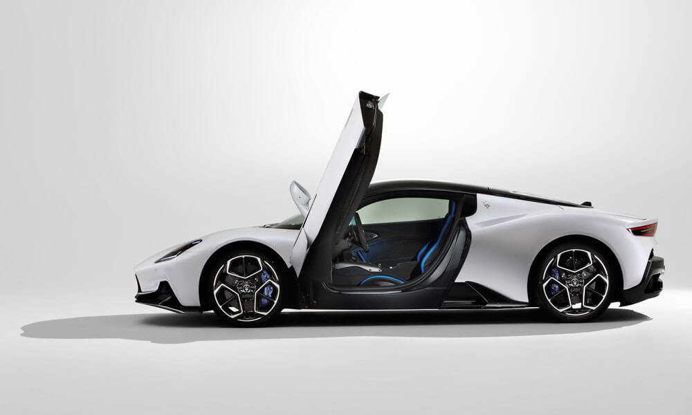 The new Maserati MC20 super sports car. Credit: Maserati