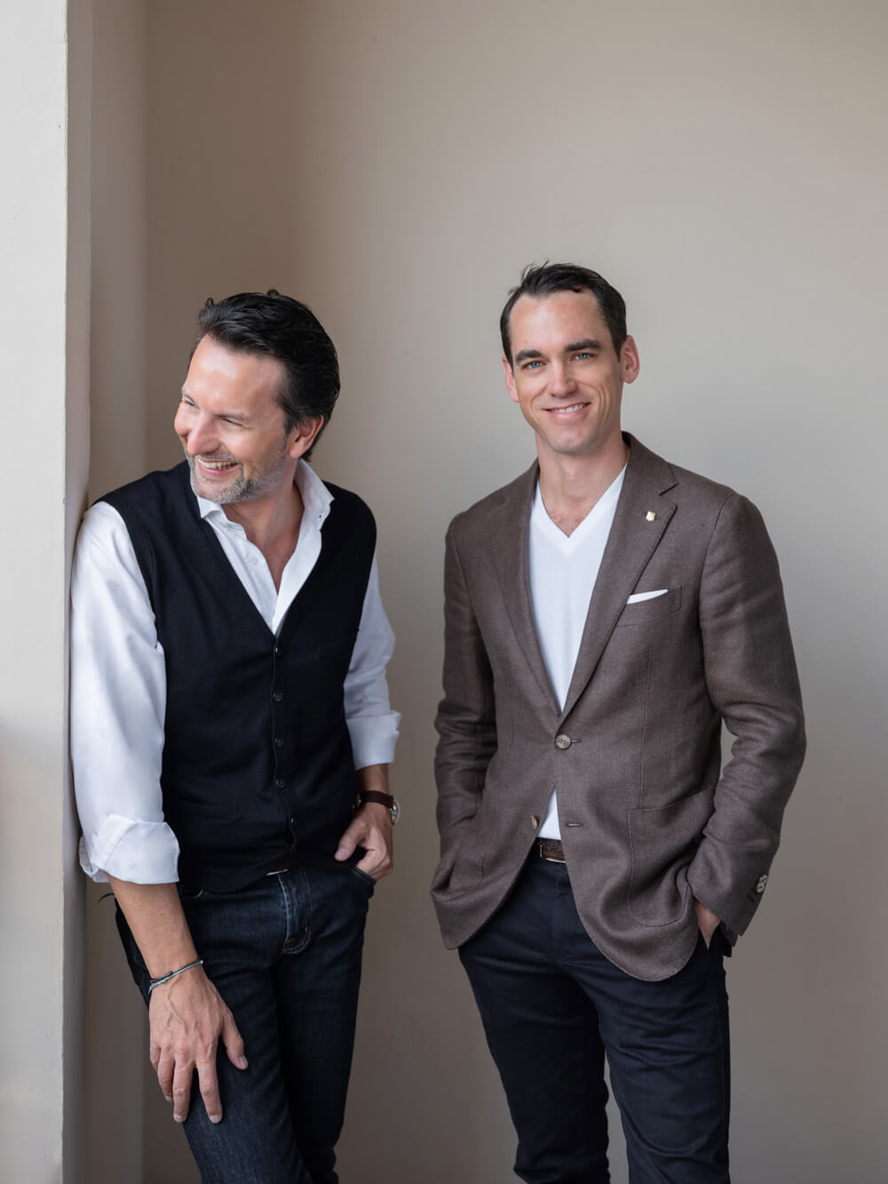 Friends and CEO's - Maximilian Büsser & Edouard Meylan