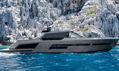 Mazu Yachts Mazu 82 side profile