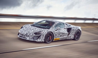 McLaren High Performance Hybrid Supercar Front View