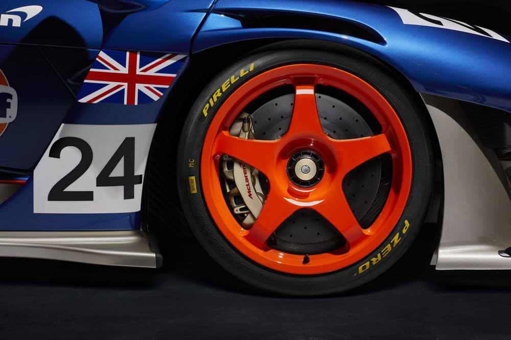 Mclaren Senna GTR LM 825 Gulf Car Wheels