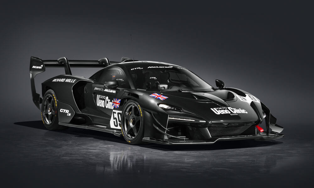 "McLaren Senna GTR LM 825/1 ""The Ueno Clinic Car"" by MSO. Credit: McLaren Automotive"