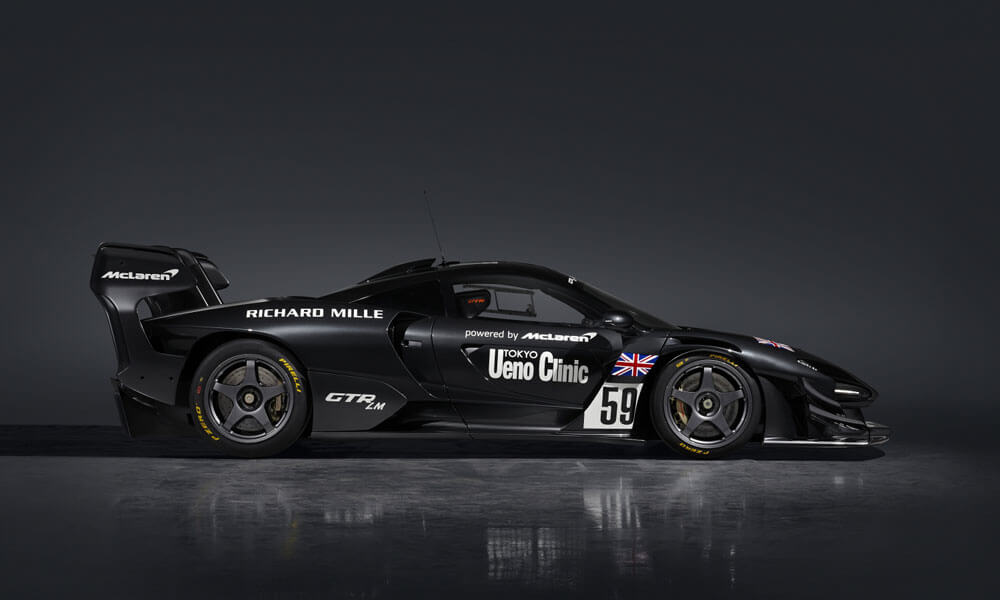 "The McLaren Senna GTR LM ""The Ueno Clinic Car"". Credit: McLaren Automotive"