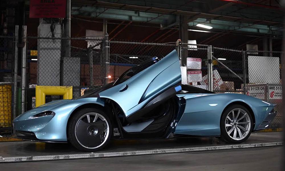McLaren Speedtail First in USA