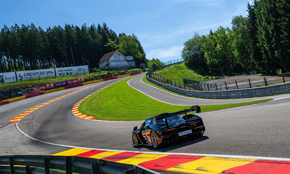 Pure McLaren Experience Spa Francorchamps