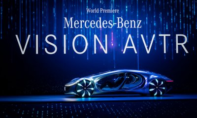 Mercedes Benz Concept Car called the Vision AVTR during reveal