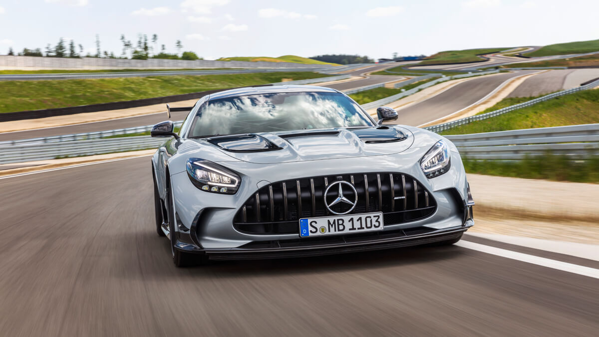 Mercedes AMG GT Black Series Front Driving Side Profile
