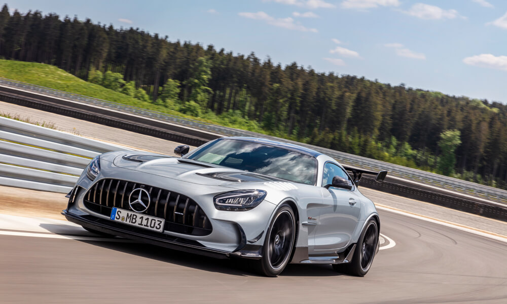 Mercedes AMG GT Black Series Front Driving Side View