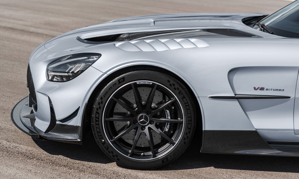 Mercedes AMG GT Black Series Front Wheel Side Profile