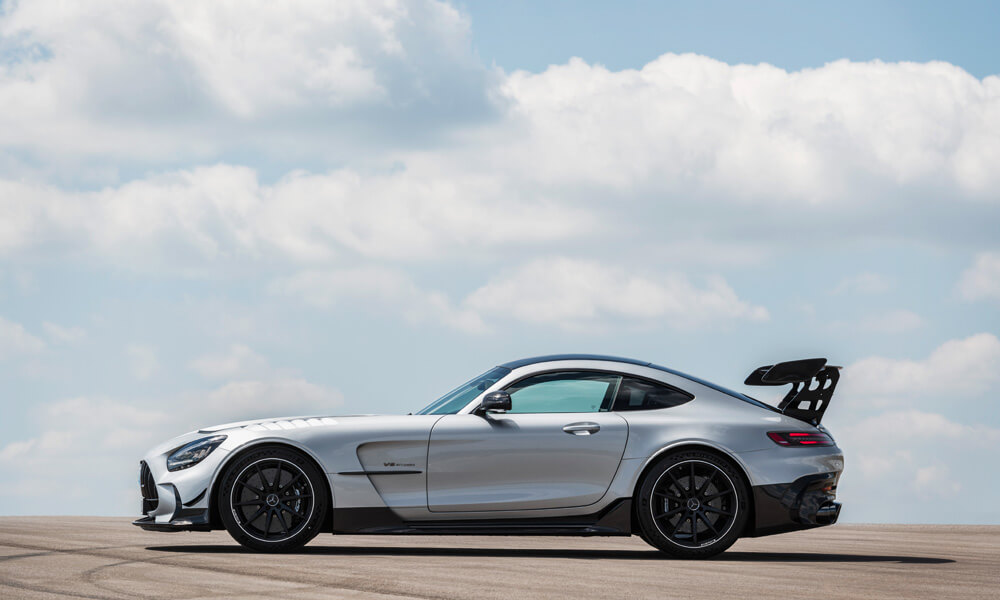 Mercedes AMG GT Black Series Side View