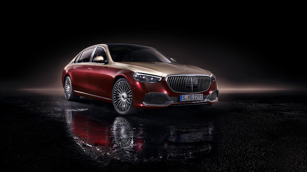 Mercedes Maybach Front Side Profile