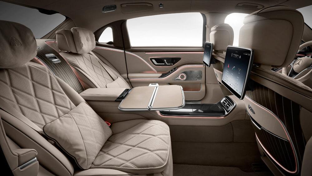 Mercedes Maybach Rear Seats