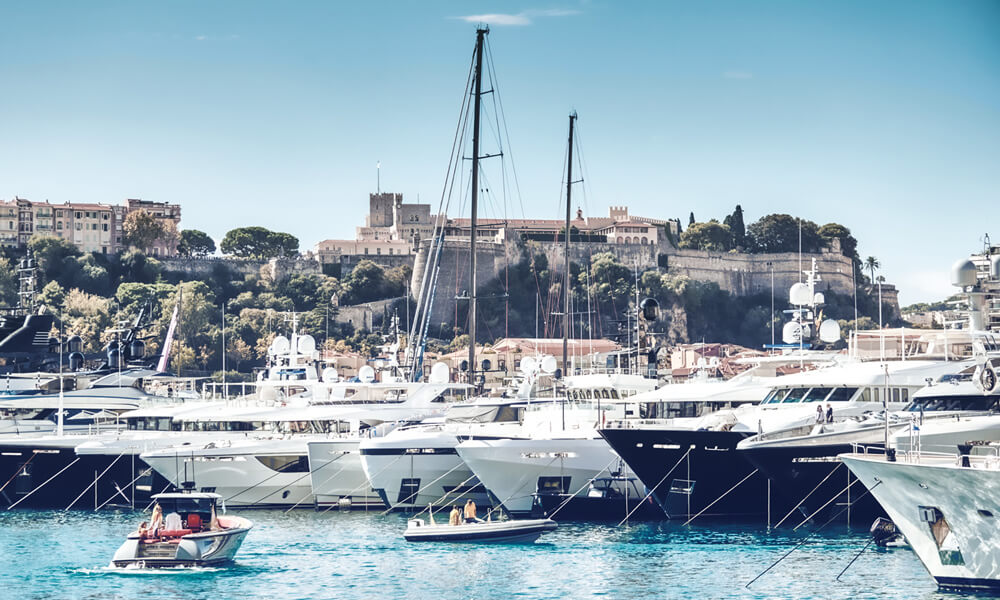 The 2020 Monaco Yacht Show has been canceled this year but will return in 2021. Credit: Monaco Yacht Show