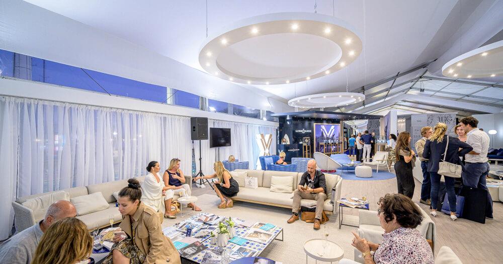 Monaco Yacht Show Lounge