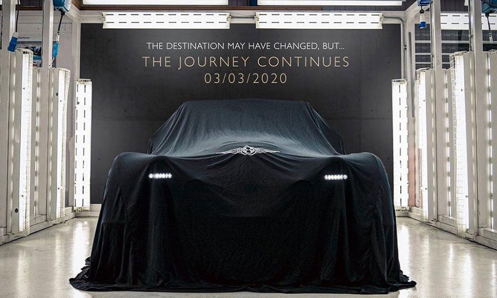 Morgan Motor Company GIMS 2020 Live Stream