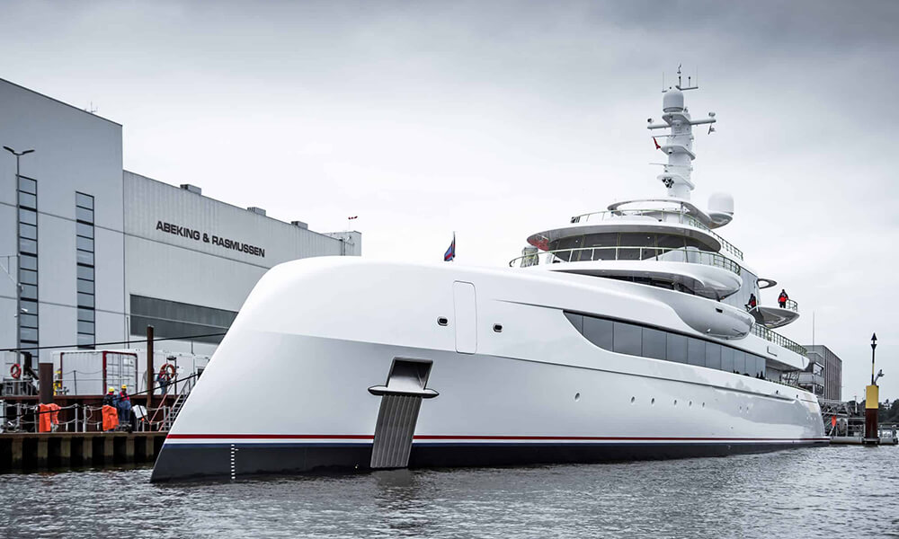 Motor yacht Excellence by Abeking Rasmussen